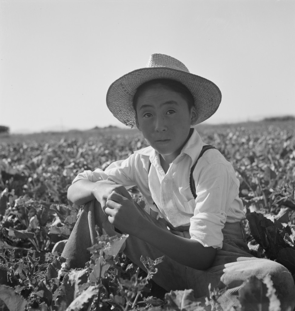 Mathias Uchiyama in Malheur County, Oregon, 1942. Library of Congress, Prints & Photographs Division, FSA-OWI Collection, LC-USF34-073712-E.