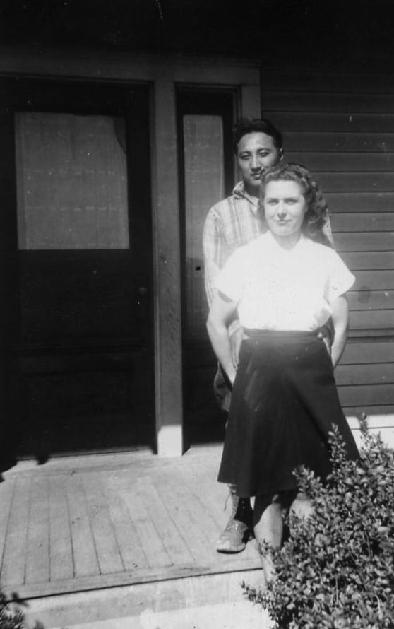 Ben and Josie Yonemura in 1942. Image courtesy of Karen Yonemura Ramirez.